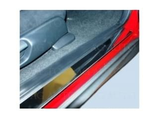 Ochranné kryty prahů nerez, Fiat Seicento (600), 2005->2010, Hatchback, 3 dveř.