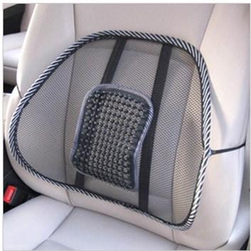 Masážní bederní opěrka do auta na sedadlo židli
