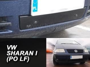 Zimní clona - kryt chladiče, VW Sharan, 2000 - 2010, dolní