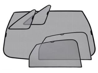 Sluneční clony, Subaru Forester IV, 2012 - 2018, 5-dvéř.