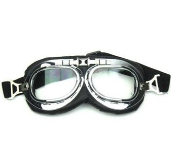 Retro moto brýle- letecké skládací