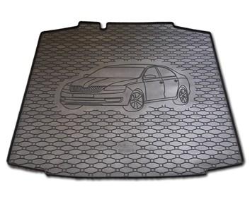 Vana do kufru gumová RIGUM Škoda Rapid 2012-