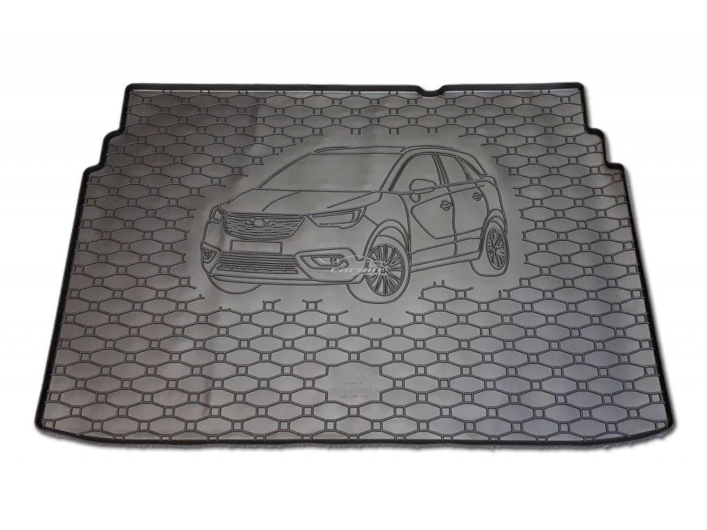 Vana do kufru gumová Opel Crossland X od r.v. 2017 s logem auta
