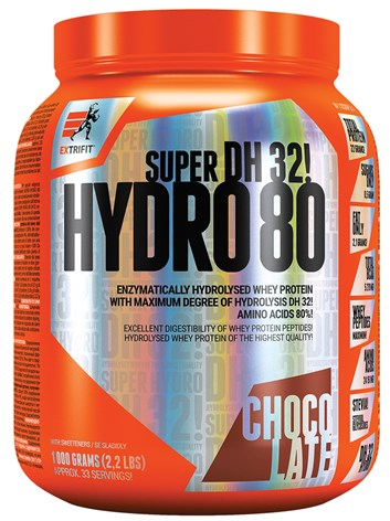 Extrifit Super Hydro 80 DH 32 1000 g chocolate