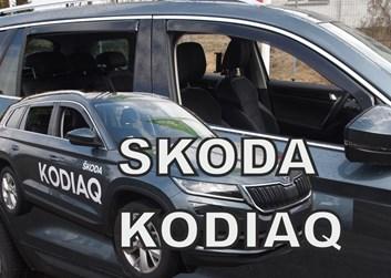 Ofuky oken Škoda Kodiaq od r.v. 2016 přední + zadní