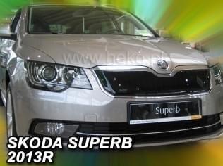 Zimní clona - kryt chladiče, Škoda Superb II, 2013->, po faceliftu, 4/5 dveř