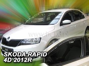 Ofuky oken Škoda Rapid 5dv od r.v. 2012 přední+zadní