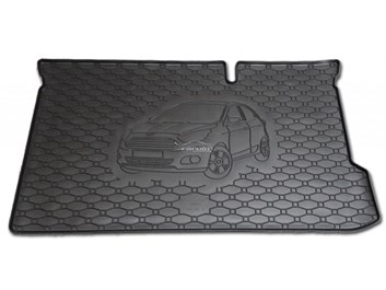 Vana do kufru gumová Ford Ka+ od r.v. 2016 s logem auta