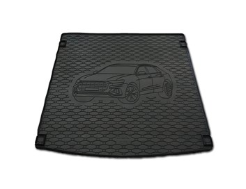 Vana do kufru gumová RIGUM Audi Q8 2019-
