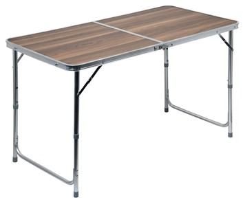 Kempingový stůl DOUBLE hnědy