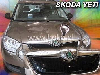 Zimní kryt chladiče Škoda Yeti od r.v. 2009