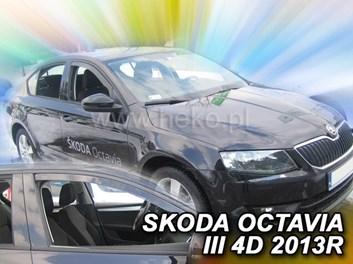 Ofuky oken Škoda Octavia III HB 5dv od r.v. 2013 přední+zadní