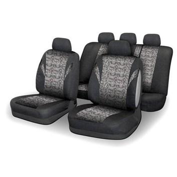 Autopotahy na sedadla celého auta airbag hadí kůže