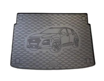 Vana do kufru gumová RIGUM Hyundai Kona 2017- Dolní poloha