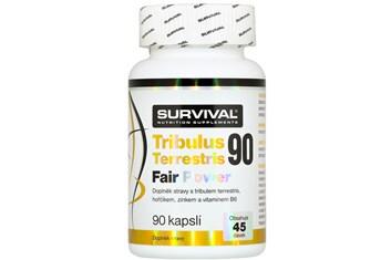 Survival Tribulus Terrestris 90 Fair Power 90 cps