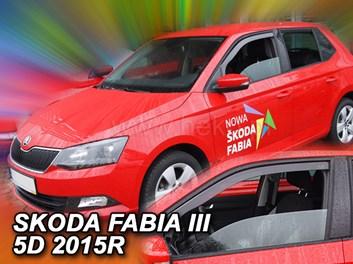 Ofuky oken Škoda Fabia III HB/Combi od r.v. 2014 přední