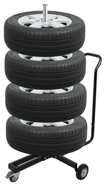 """Pojizdný stojan na kola drzak na ulození pneu 13""""-18"""""""