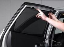 Sluneční clony VW Golf V 2003-2009 hatchback 5dv zadní 2 ks