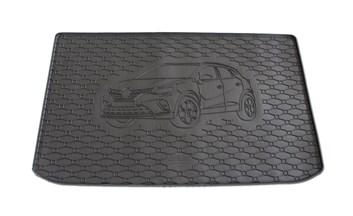 Vana do kufru gumová Renault Captur od r.v. 2020 s logem auta