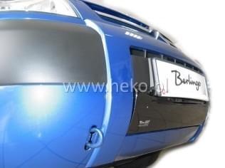 Zimní clona - kryt chladiče, Citroen Berlingo I, 2002->2008, dolní, po faceliftu
