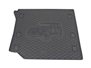 Vana do kufru gumová RIGUM Jeep Wrangler 01/2019-