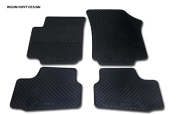 Gumové autokoberce Škoda Citigo 2011- Design