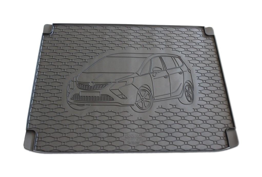 Vana do kufru gumová Opel Zafira C 5míst od r.v. 2012 s logem auta