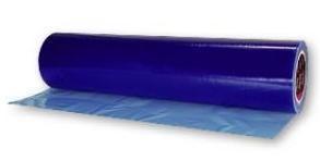 Průhledná barevná fólie na světla Modrá průsvitná 150cm x 30cm