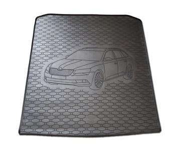 Vana do kufru gumová RIGUM Škoda Superb III Combi 2015- dolní
