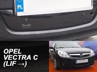 Zimní clona - kryt chladiče, Opel Vectra C, 2006 - 2008, dolní