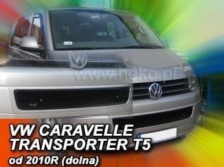 Zimní clona - kryt chladiče, VW Caravela/T5, 2009->, (spodní)