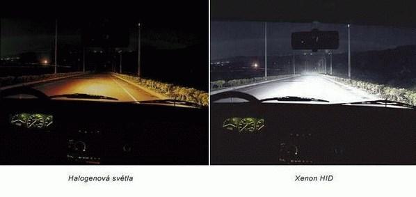 Xenon žárovky H1 5500K 100W do originál patice H1