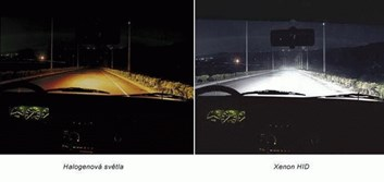 Xenon žárovky H1 5500K 100W do originál patice H1 stačí vyměnit