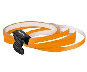 Samolepící proužky na obvod kola Foliatec - oranžová