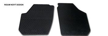 Gumové autokoberce Škoda Roomster Praktik přední (2ks) design