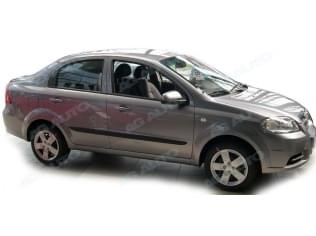 Ochranné boční lišty na dveře, Chevrolet Aveo Sedan, 2006->2010