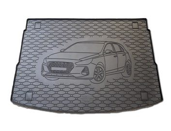 Vana do kufru gumová RIGUM Hyundai i30 HB 2019- horní poloha