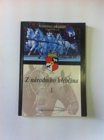 """Kniha """"Z národního hřebčína I."""""""