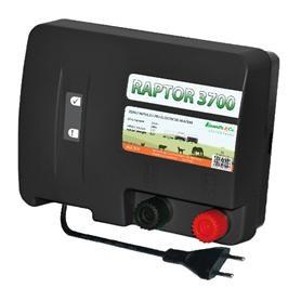 Elektrický ohradník RAPTOR 3700 - optická kontrola napětí a uzemnění (určen pro koně a psy)