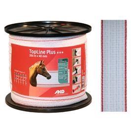 Polyetylenová páska pro elektrické ohradníky TopLine Plus 40 mm