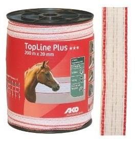 Polyetylenová páska pro elektrické ohradníky TopLine Plus 20 mm