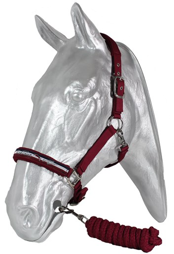 Ohlávka Kentaur s vodítkem, podložení fleece