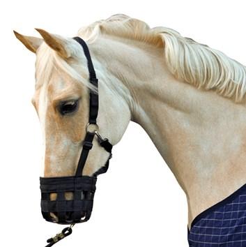 Náhubek pro koně s gumou HKM