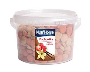 NutriHorse pochoutka vanilka & jahoda 1kg