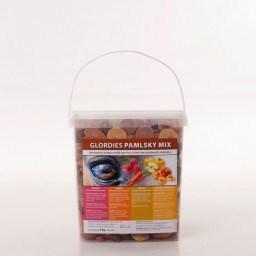 GLORDIES PAMLSKY 3kg, ovocná směs - malina, meruňka-broskev, mrkev, jablko
