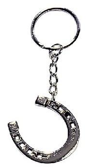Přívěšek na klíče podkova