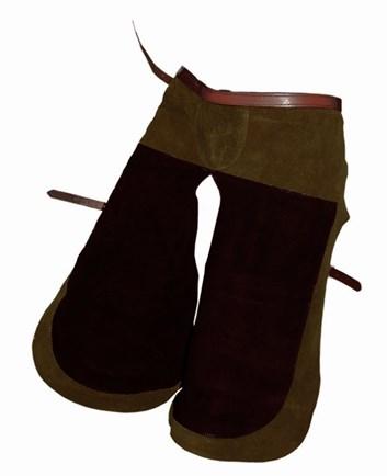 Kovářské kalhoty kožené