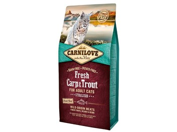 Carnilove Cat Fresh Carp & Trout - Sterilized 6kg