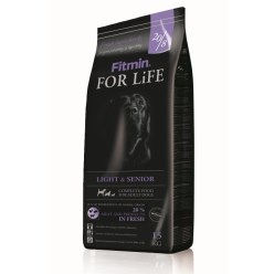Fitmin dog For Life light & senior - 15kg