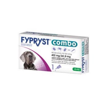Fypryst COMBO spot on XL 1x402mg/361,8mg pes 40-60kg